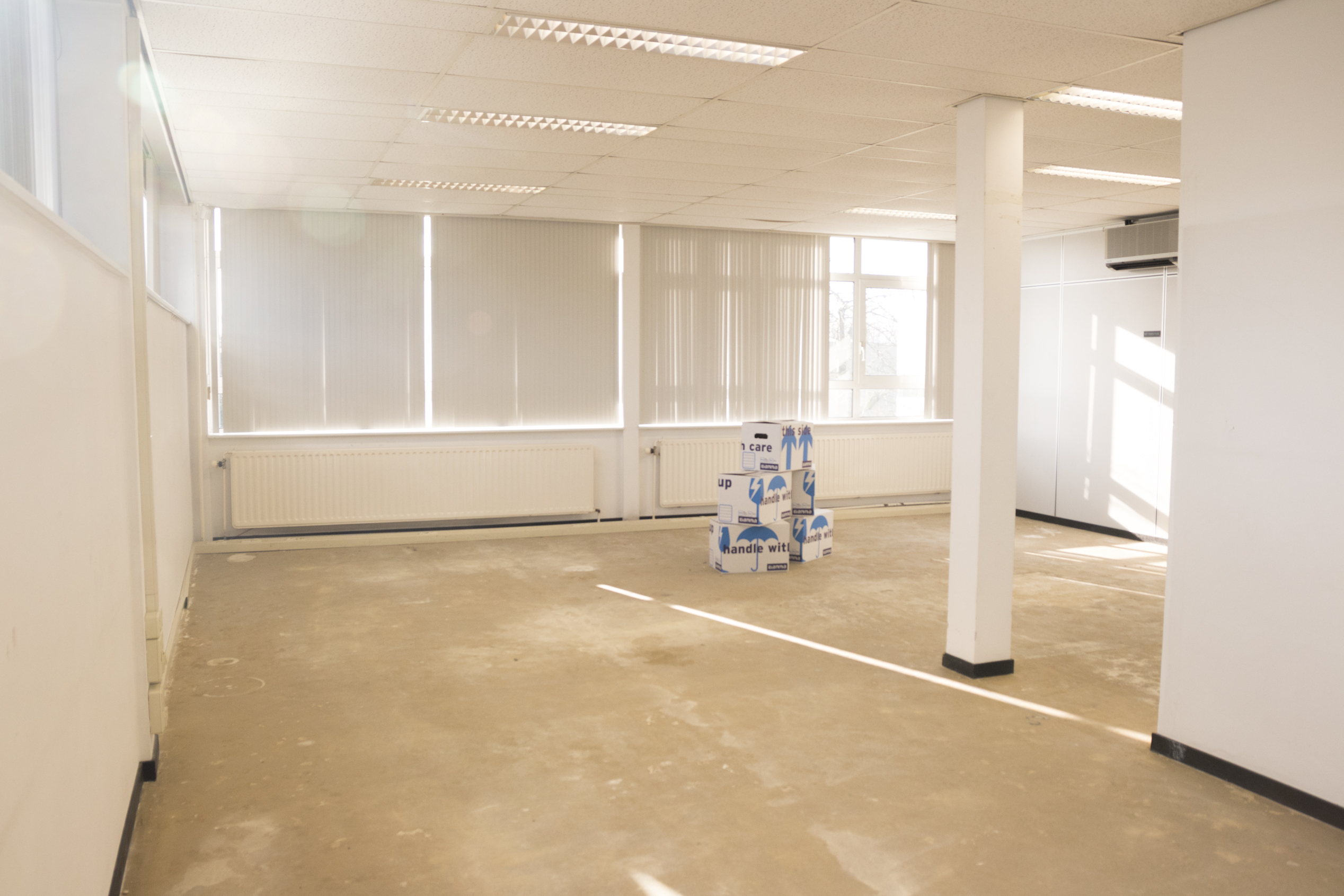 Startup zoekt nieuwe locaties voor opslagruimtes in lege kantoren